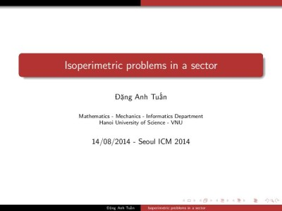 Isoperimetric problems in a sector