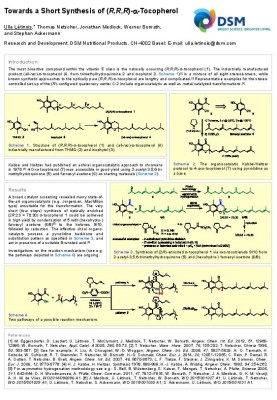 Towards a Short Synthesis of (R,R,R)-a-Tocopherol